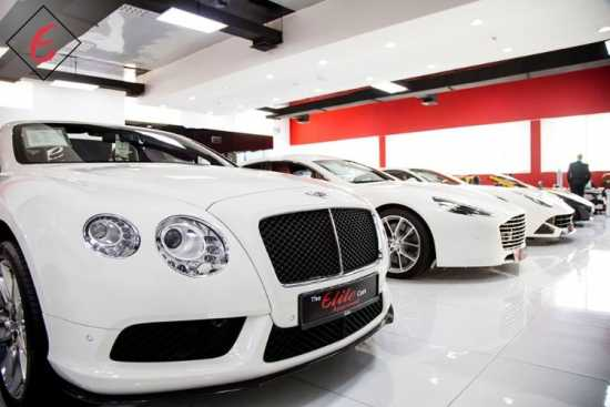 Explore the Best Luxury Car Showroom in Dubai