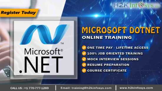 Dotnet Online Training by Certified Experts