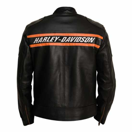 Men's Black Harley Davidson Goldberg Biker Jacket