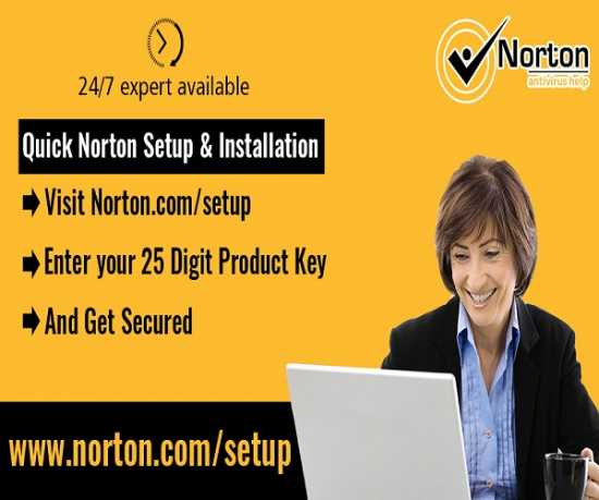 Norton Setup - Downlaod Install and Activate