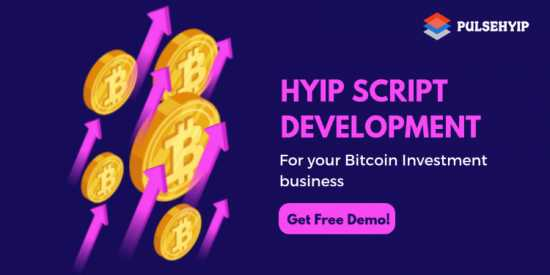 Bitcoin Investment HYIP Script - Pulsehyip