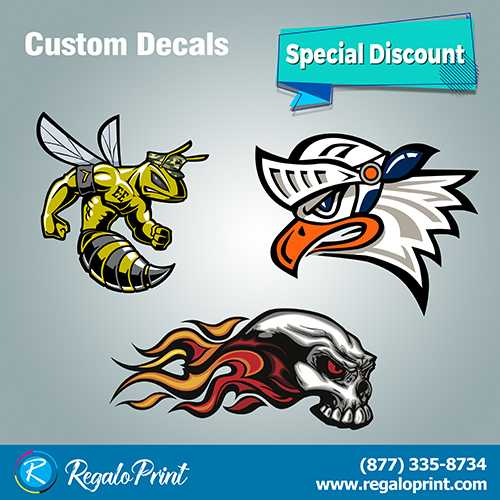 Enhance your Business Items with Decals Printing