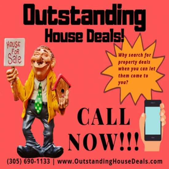 OUTSTANDING House Deals!
