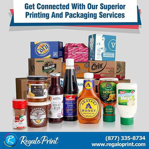 Connect with Our Superior Printing and Packaging