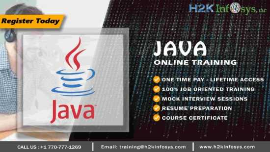 Java Online Training from Basics to Advanced