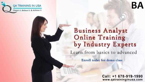 Business Analyst Online Certification Training