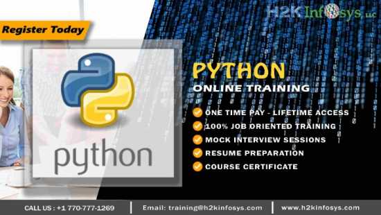 Python Online Certification Training