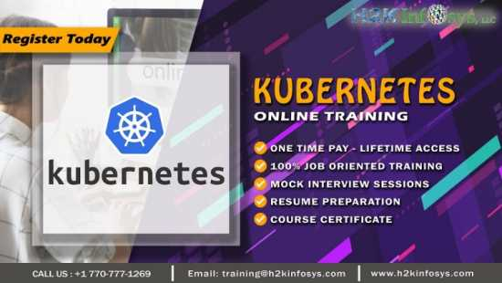 Kubernetes Online Training by Certified Experts