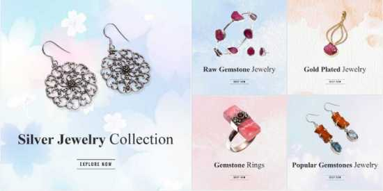 Opt for Wholesale Silver Jewelry Manufacturer