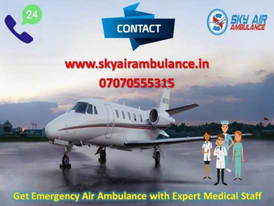 First Class Air Ambulance Service in Coimbatore