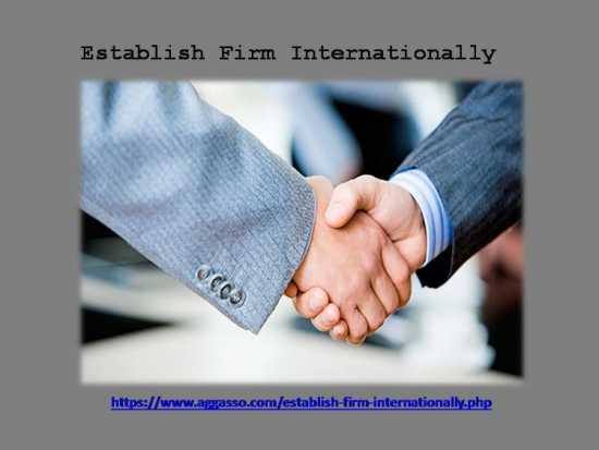 Connect with Foreign Establish Firm Internationall