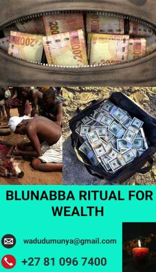 Balunabba ritual for wealth.+27810967400