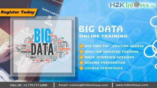 Advanced Bigdata Online Training Course