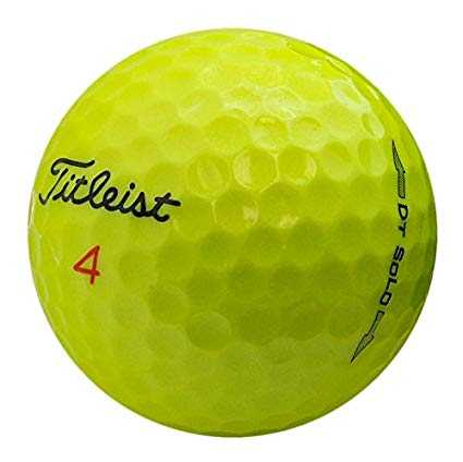 Bridgestone E6 Yellow Mint Recycled Golf Balls (36