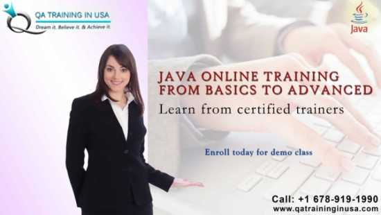 Java Online Training by Industry Experts