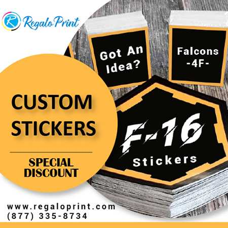 Get Complimentary Crafted Custom Stickers Printing