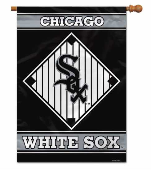"MLB Chicago White Sox House Banner 28"" x 40"""