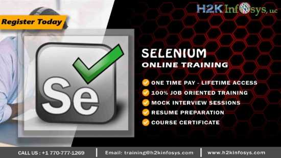 Advanced Selenium Training in Florida
