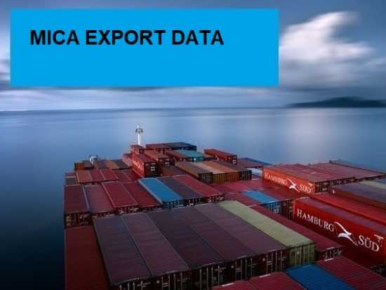 MICA EXPORT DATA: A Business Intelligence Report f