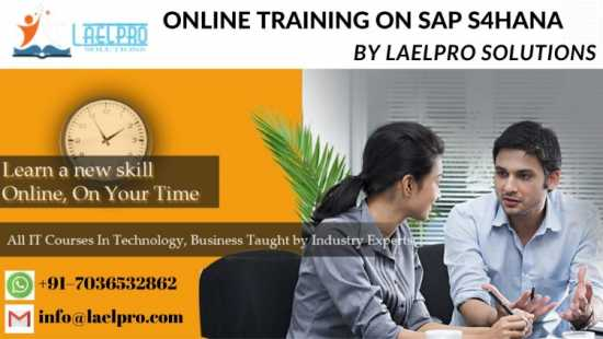 ONLINE TRAINING ON SAP S4 HANA CERTIFICATION