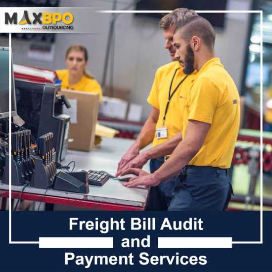 Freight Bill Pre Audit Services- Max BPO