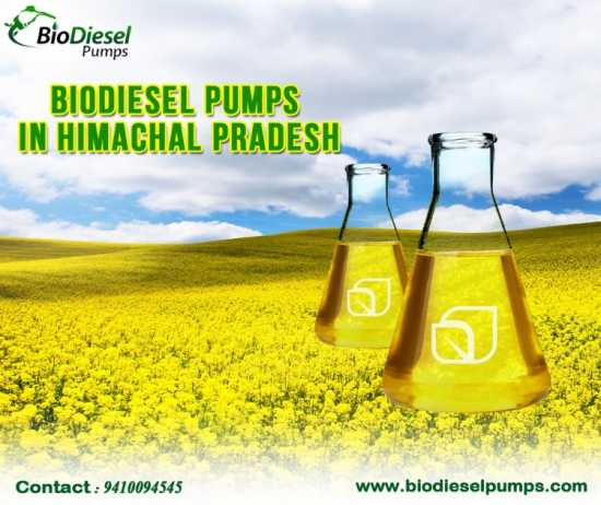 Biodiesel Pumps In Himachal Pradesh