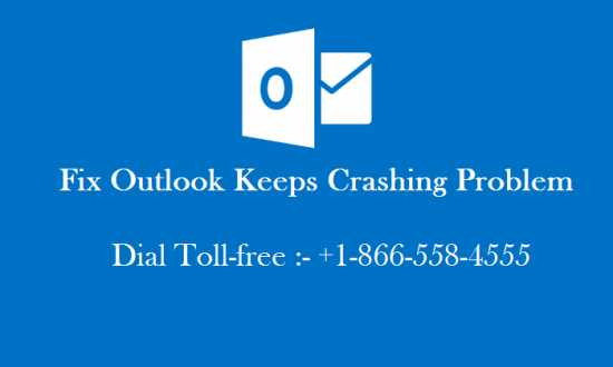 How to fix outlook keeps crashing problem?