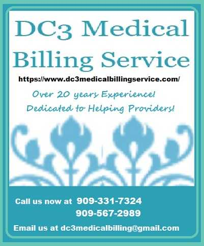 DC3 MEDICAL BILLING SERVICE