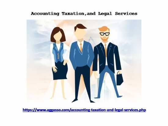 Accounting, Taxation, And Legal Services For Both