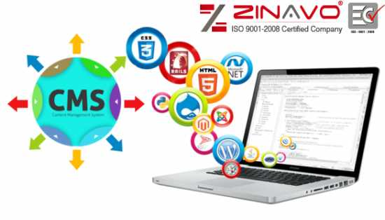 CMS Website Design and Development Services