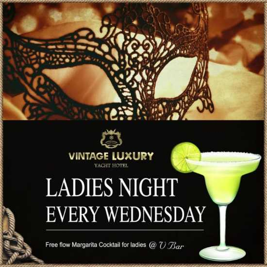"""Ladies night"" is waiting for you at V-Bar on Ever"